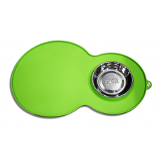 Catit Placemat With Stainless Steel Bowl