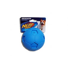 Nerf Squeaker Rubber Ball - Blue