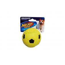 Nerf Squeaker Crinkle Ball - Yellow