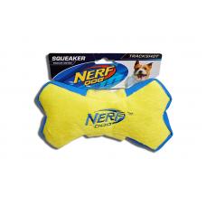 Nerf Squeaker Plush Bone - Yellow