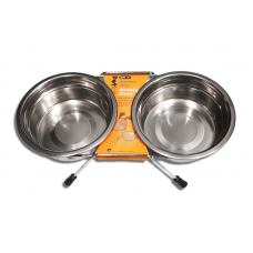 Petface Double Stainless Steel Bowl 800ml